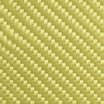 300g 2x2 Twill Weave Kevlar Cloth Zoomed