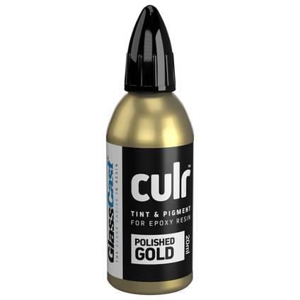 CULR Epoxy Pigment - Polished Gold 20ml
