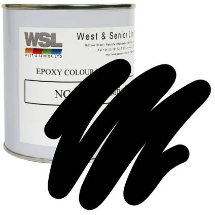 Black Epoxy Pigment 500g