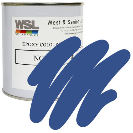 Motorway Blue Epoxy Pigment 500g