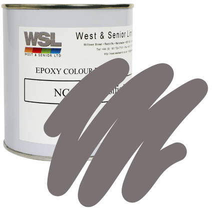 Dust Grey Epoxy Pigment 500g