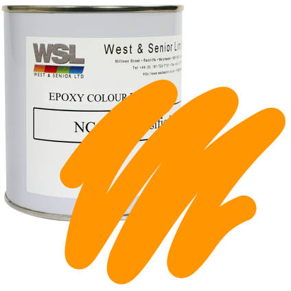 Tangerine Orange (Lead Free) Epoxy Pigment 500g