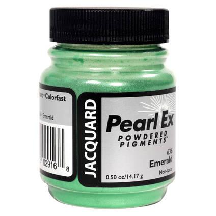 Emerald Green (#636) Pearl Ex Powdered Pigment 14g