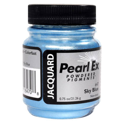 Sky Blue (#647) Pearl Ex Powdered Pigment 21g