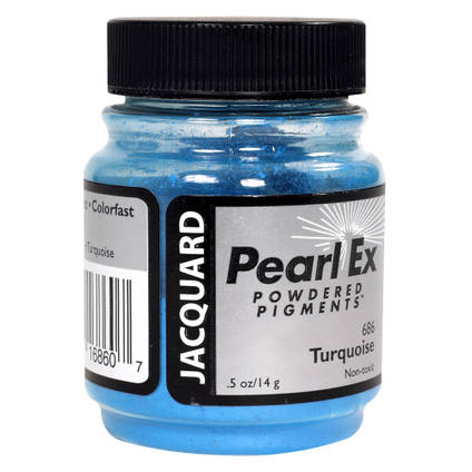 Turquoise (#686) Pearl Ex Powdered Pigment 14g