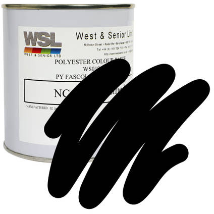 Black Polyester Pigment 500g