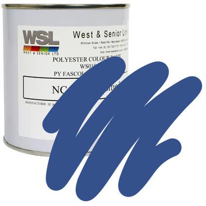 Motorway Blue Polyester Pigment 500g