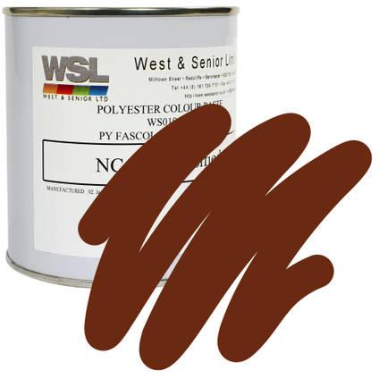 Chestnut Brown Polyester Pigment 500g