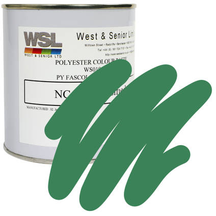 Emerald Green Polyester Pigment 500g