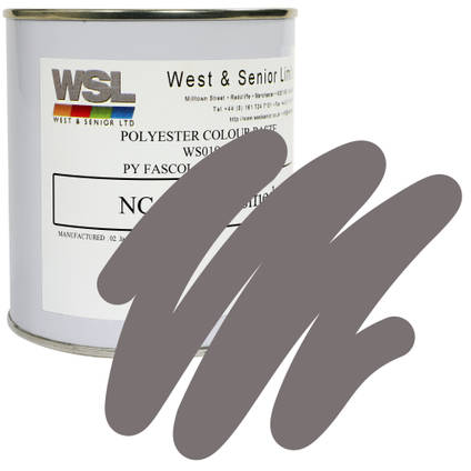Dust Grey Polyester Pigment 500g