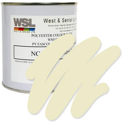 Ivory Polyester Pigment 500g