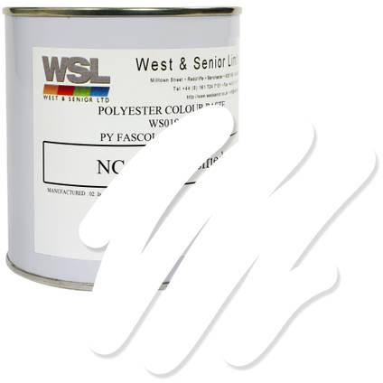 White Polyester Pigment 500g