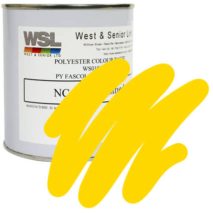 Lemon Yellow Polyester Pigment 500g