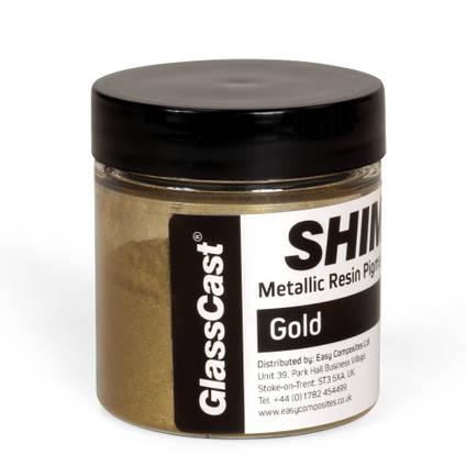 SHIMR Metallic Resin Pigment - Gold 20g