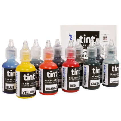 Set of 10 Translucent Tinting Pigments