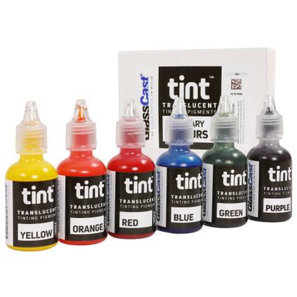 Set of 6 Translucent Tinting Pigments