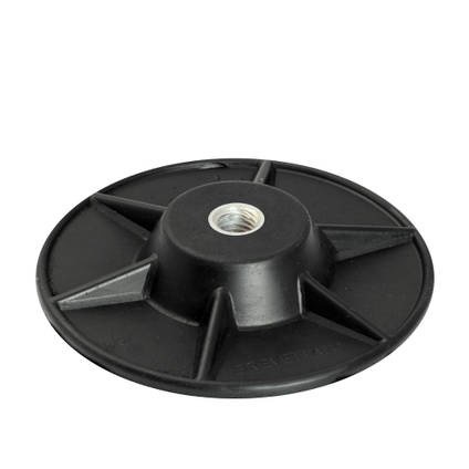 S10 Semi Flexible Backing Plate 125mm