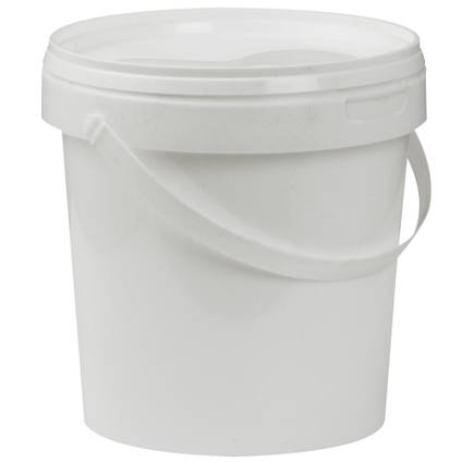 1L Plastic Mixing Bucket with Lid