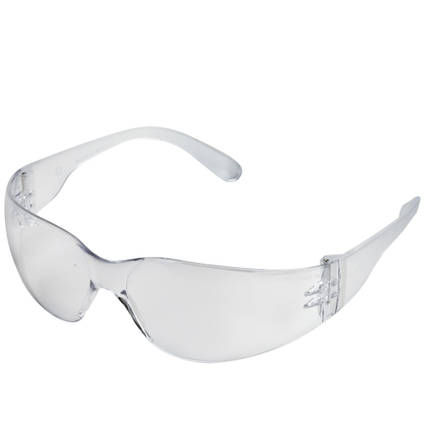 Clear Plastic Safety Glasses