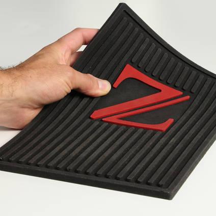 Custom Flexible Polyurethane Car Floor Mat cast from Xencast® PX60 Medium Flexible Polyurethane Rubber