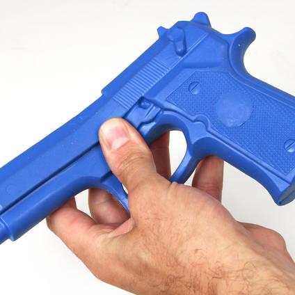 Training Weapon cast using Xencast® PX60 Medium Flexible Polyurethane