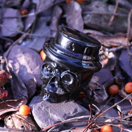 Resin Skull Casting with Jet Black CULR Epoxy Pigment