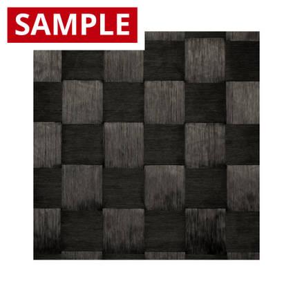 160g Spread-Tow Plain Weave 15k Carbon Fibre 15mm - SAMPLE