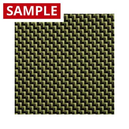 210g 2x2 Twill 3k Carbon Kevlar - SAMPLE
