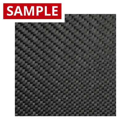 200g 2x2 Twill Black Diolen - SAMPLE