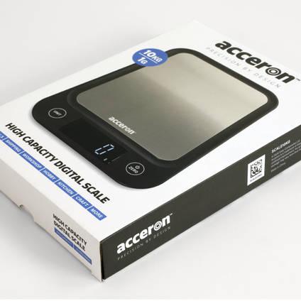 Acceron 10kg High Capacity Digital Scales in Packaging