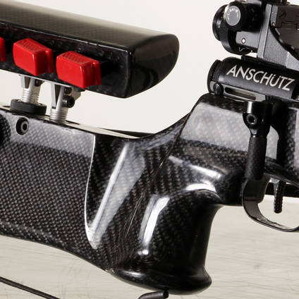 Wooden Rifle Stock Skinned with XCR Skinning Starter Kit