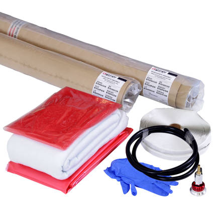 Prepreg Carbon Fibre Starter Kit Regular