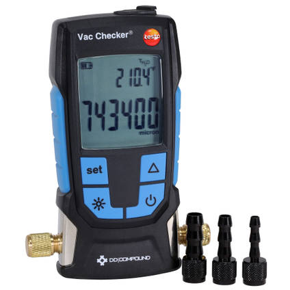 Vac Checker Precision Digital Vacuum Gauge