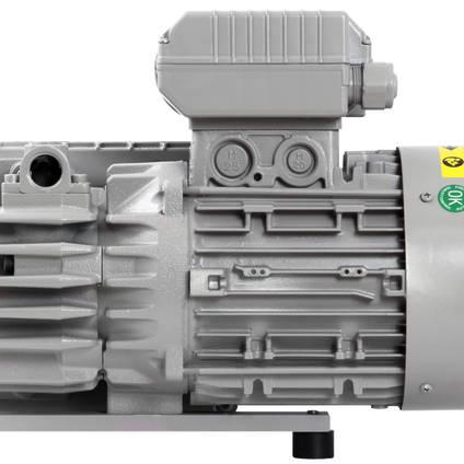 EC20 Industrial Vacuum Pump - End View 1