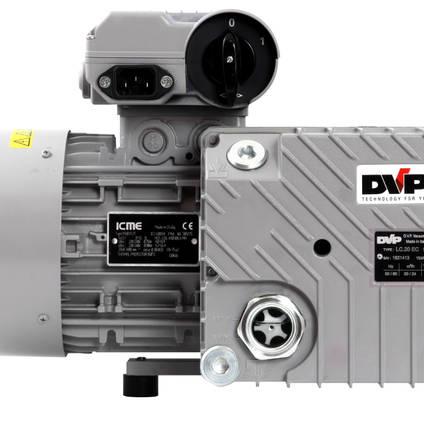 EC20 Industrial Vacuum Pump - End View 2