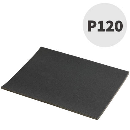 Mirka P120 Wet and Dry Abrasive Paper 10 Sheets