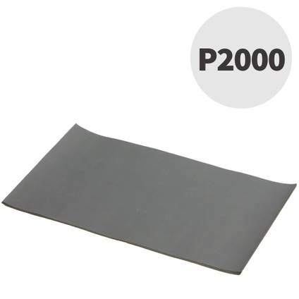 Mirka P2000 Wet and Dry Abrasive Paper 10 Sheets