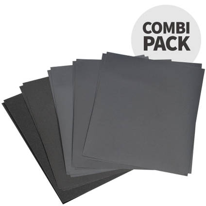 Mirka Wet and Dry Combination Pack 10 Sheets