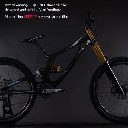 Sequence Carbon Fibre Downhill Bike