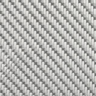 290g 2x2 Twill Alufibre Silver Glass (1000mm) Thumbnail