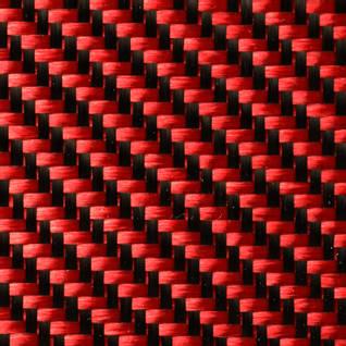 210g Red 2x2 Twill 3k Carbon Fibre Cloth (1000mm) Thumbnail
