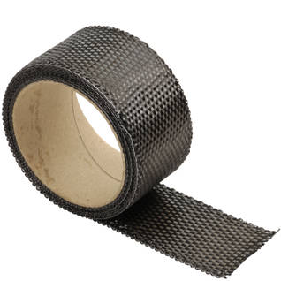 240g Plain WeaveCarbon Fibre Tape Thumbnail