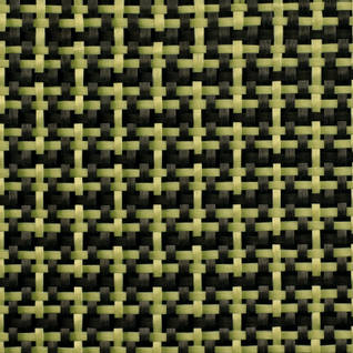 188g Plain Weave 3k Carbon Kevlar Cloth (1000mm) Thumbnail