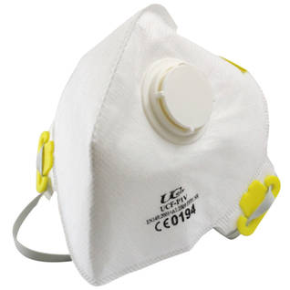 P1 Valved Fold-Flat Disposable Respirator Thumbnail