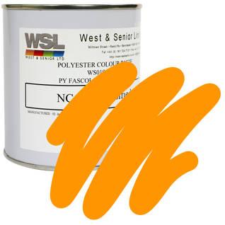 Tangerine Orange Polyester Pigment Thumbnail