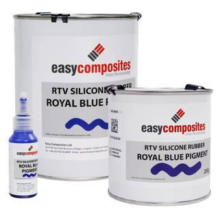 Royal Blue Liquid Silicone Pigment Thumbnail