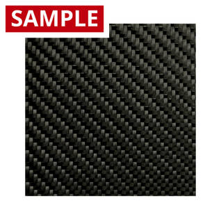 210g 2x2 Twill 3k Carbon Fibre - SAMPLE Thumbnail