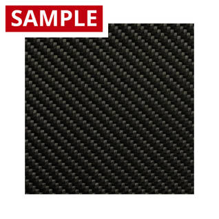 240g 2x2 Twill 3k Carbon Fibre - SAMPLE Thumbnail