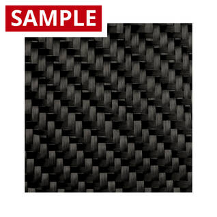 450g 2x2 Twill 12k Carbon Fibre - SAMPLE Thumbnail