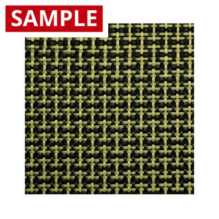 188g Plain Weave 3k Carbon Kevlar - SAMPLE Thumbnail